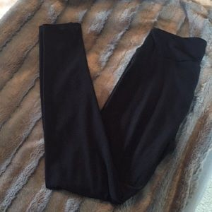 LuLaRoe Pants - Never worn BLACK LULAROE OS